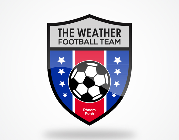 Logo Design The Weather Football Team